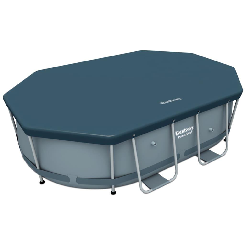 Acheter bestway housse pour piscine levant ovale 300 x 200 for Housse pour table de jardin ovale 200 cm