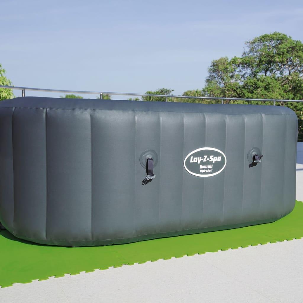 Acheter bestway protecteurs de sol de piscine 8 pcs 81 x for Piscine solde