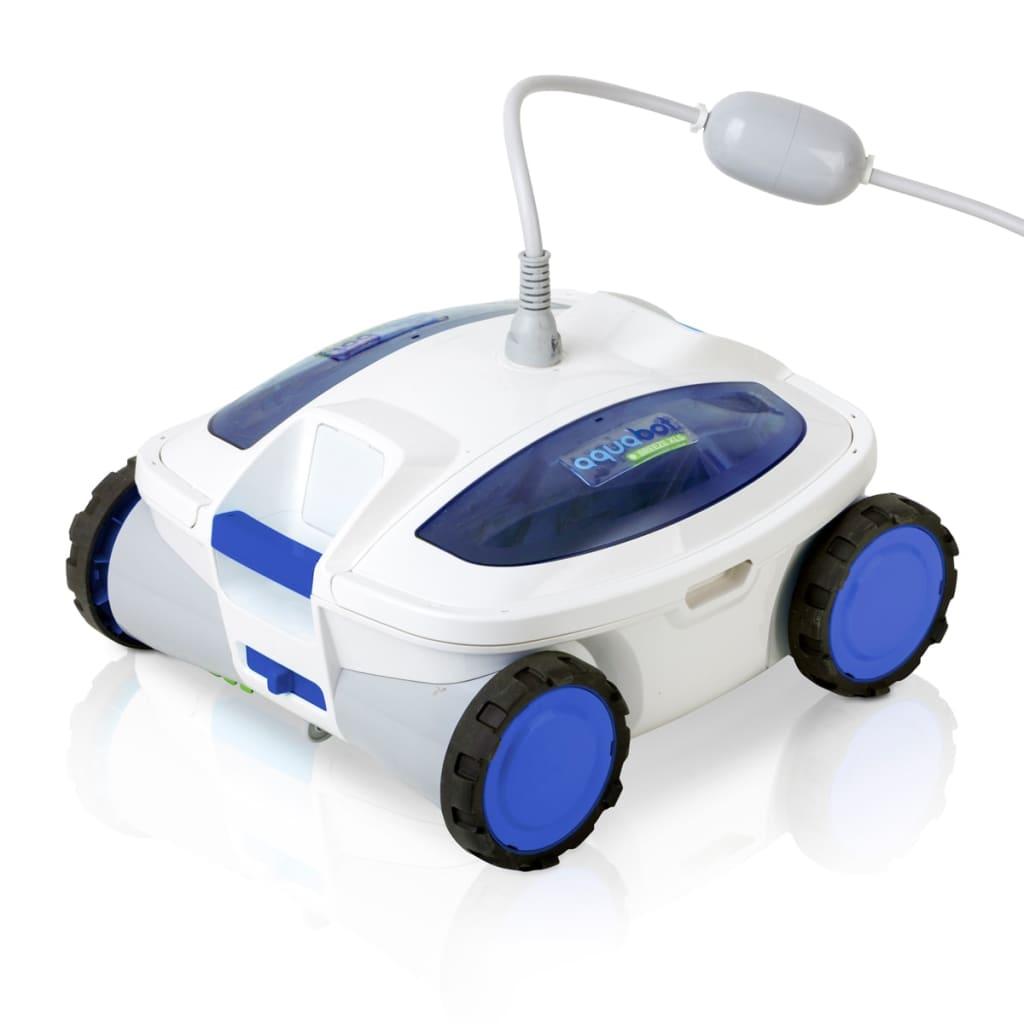 Acheter gre nettoyeur robotique de piscine track blanc et for Solde robot piscine