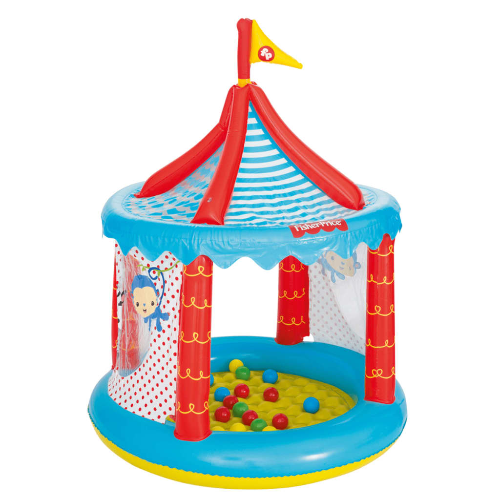 Bestway piscina de bolas de circo fisher price 104x137 cm for Piscina de bolas amazon