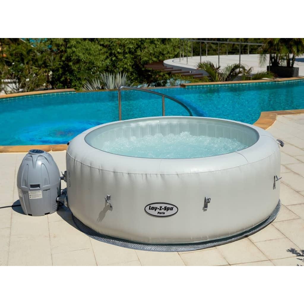bestway whirlpool outdoor lay z spa paris online kopen. Black Bedroom Furniture Sets. Home Design Ideas
