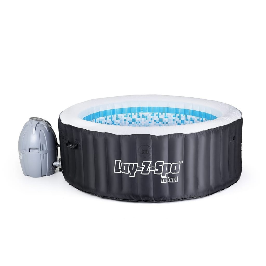 bestway whirlpool indoor lay z spa miami online kopen. Black Bedroom Furniture Sets. Home Design Ideas