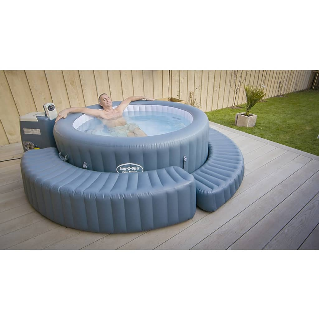 Lay z spa aufblasbare umrandung f r bestway whirlpools for Aufblasbare pools im angebot