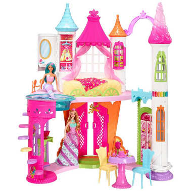 barbie dreamtopia sweetville prinzessin schloss dyx32 zum schn ppchenpreis. Black Bedroom Furniture Sets. Home Design Ideas