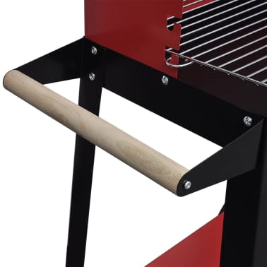 Charcoal BBQ Stand with 2 Wheels[3/4]