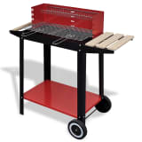 Charcoal BBQ Stand with 2 Wheels