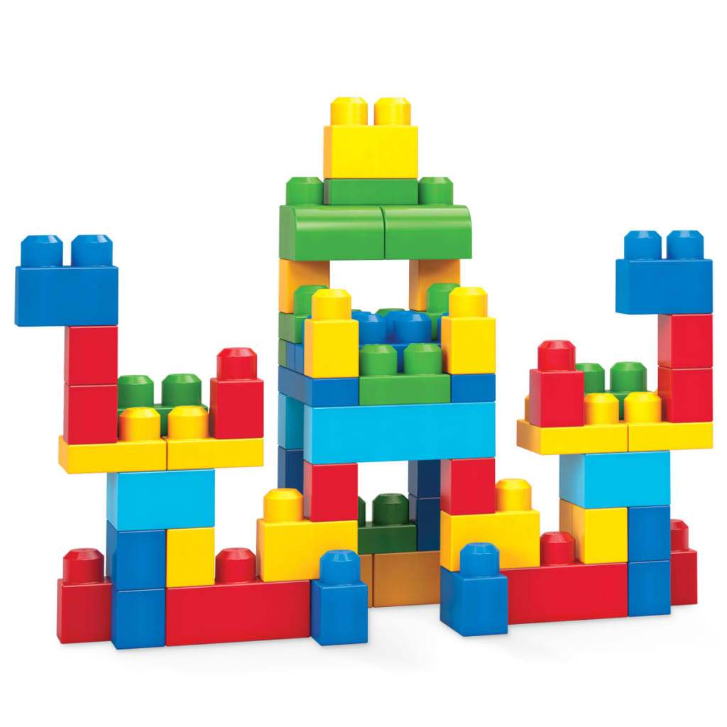 Mega bloks first builders grote blokkentas 60 st dch55 for Builders first