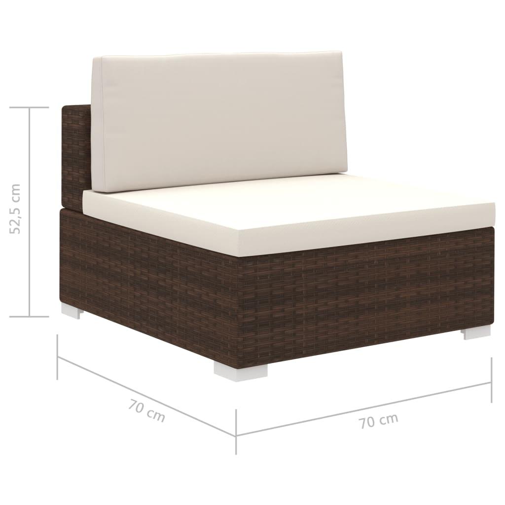 vidaXL-Conjunto-de-Muebles-de-Jardin-35-Piezas-Poli-Ratan-Color-Marron-y-Blanco