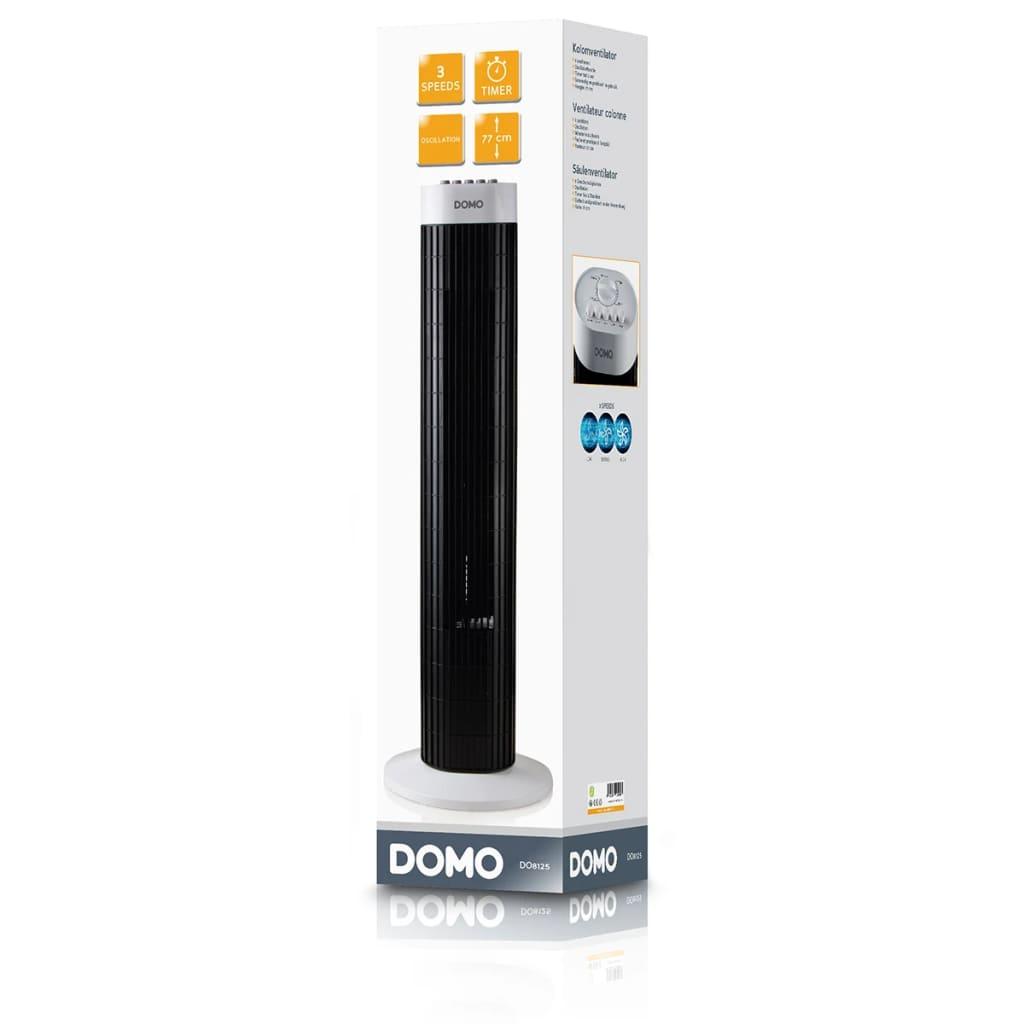 Acheter Domo Ventilateur tour 77 cm 45 W Noir DO8125 pas