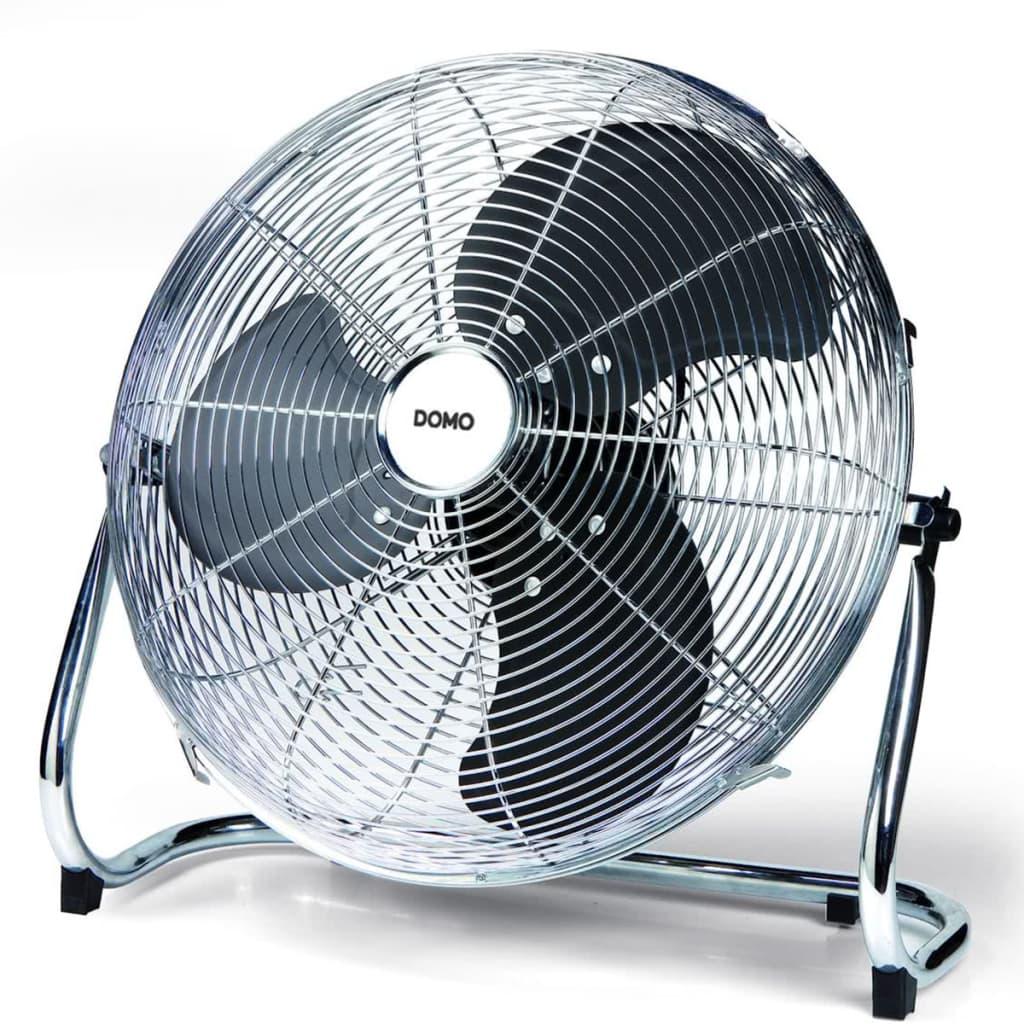 Acheter domo ventilateur de bureau 40 cm chrome pas cher for Bureau 40 cm de large