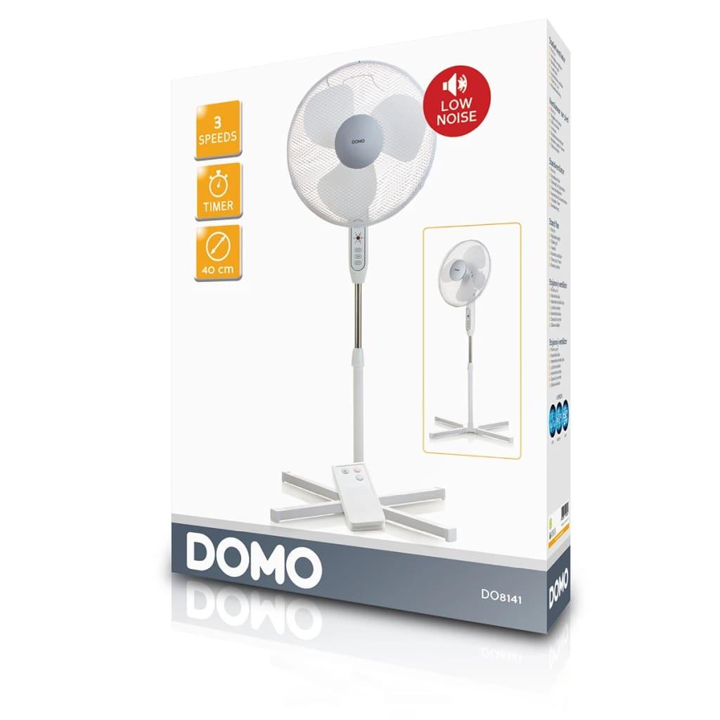 acheter domo ventilateur sur pied 40 cm 40 w blanc do8141. Black Bedroom Furniture Sets. Home Design Ideas