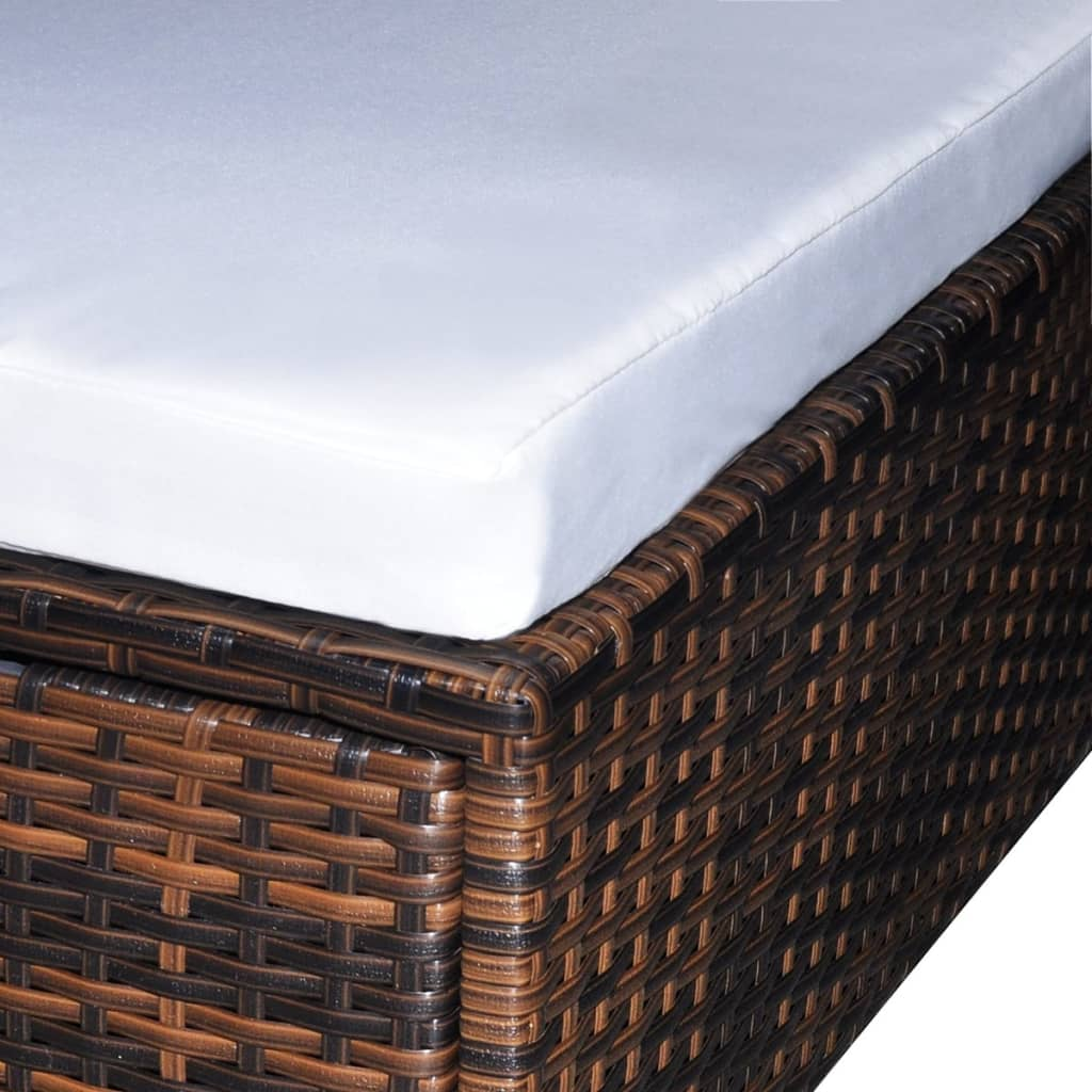 der gartenm bel poly rattan set lounge sitzgruppe braun 16 teilig online shop. Black Bedroom Furniture Sets. Home Design Ideas
