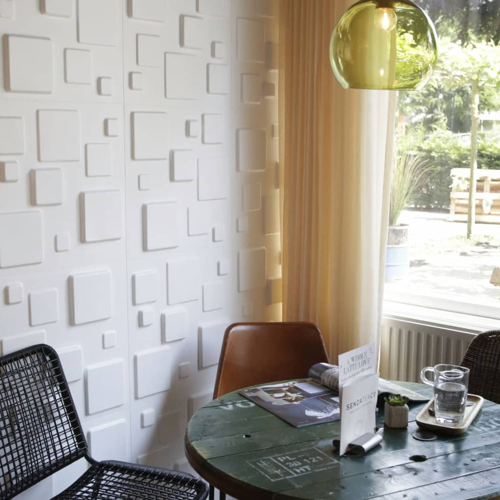 wallart 3d wandpaneele squares 12 stk ga wa09 g nstig kaufen. Black Bedroom Furniture Sets. Home Design Ideas