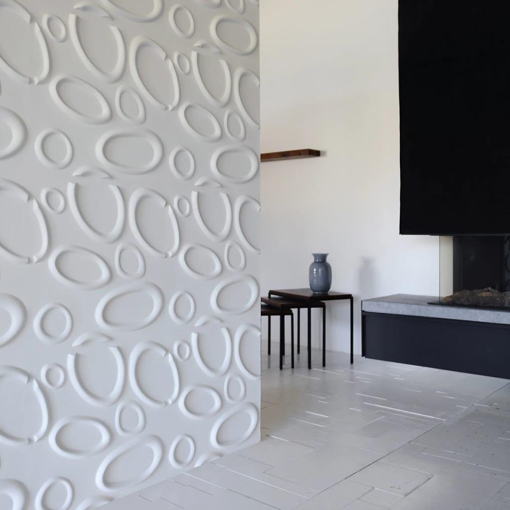 acheter wallart panneaux muraux 3d splashes 12 pcs ga wa10 pas cher. Black Bedroom Furniture Sets. Home Design Ideas