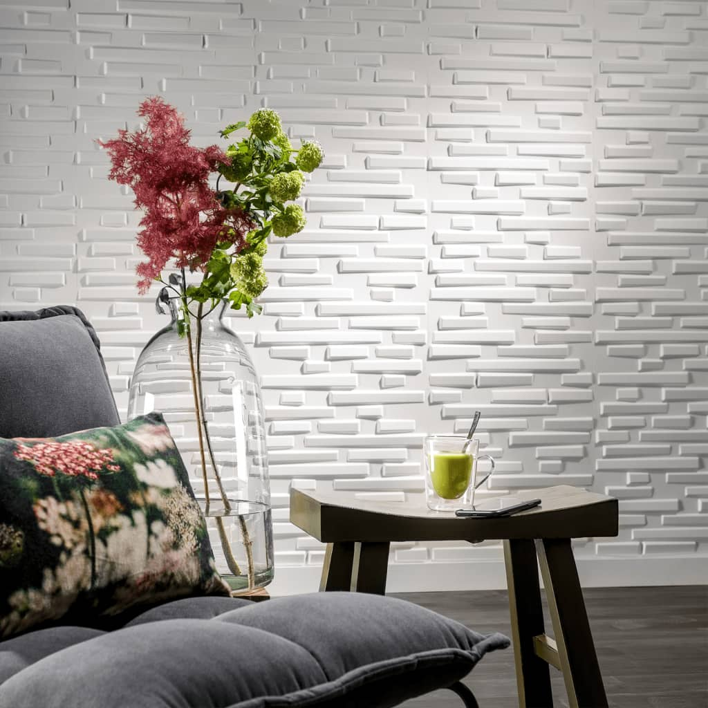 acheter wallart panneaux muraux 3d pebbles 12 pi ces ga wa13 pas cher. Black Bedroom Furniture Sets. Home Design Ideas