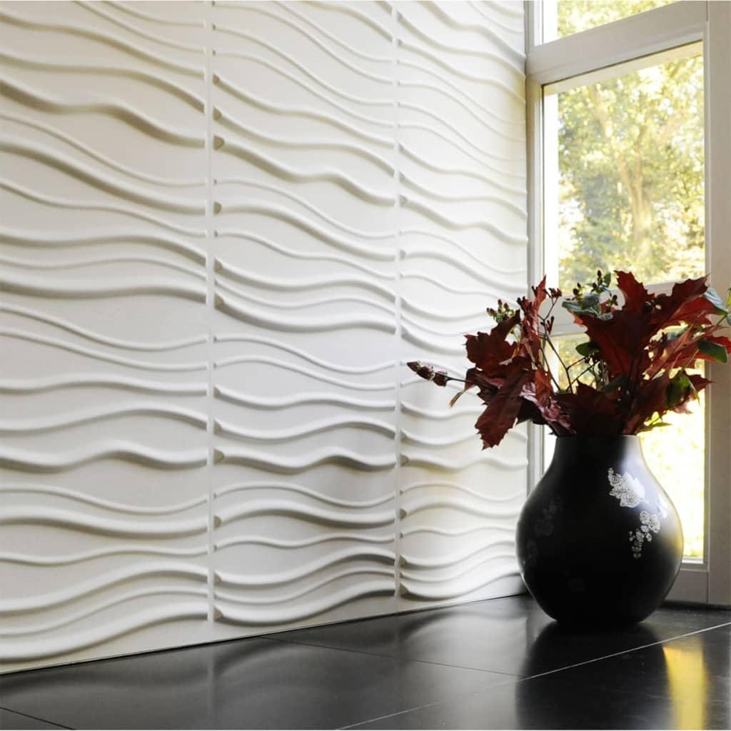 acheter wallart panneaux muraux 3d sable 12 pcs ga wa15 pas cher. Black Bedroom Furniture Sets. Home Design Ideas