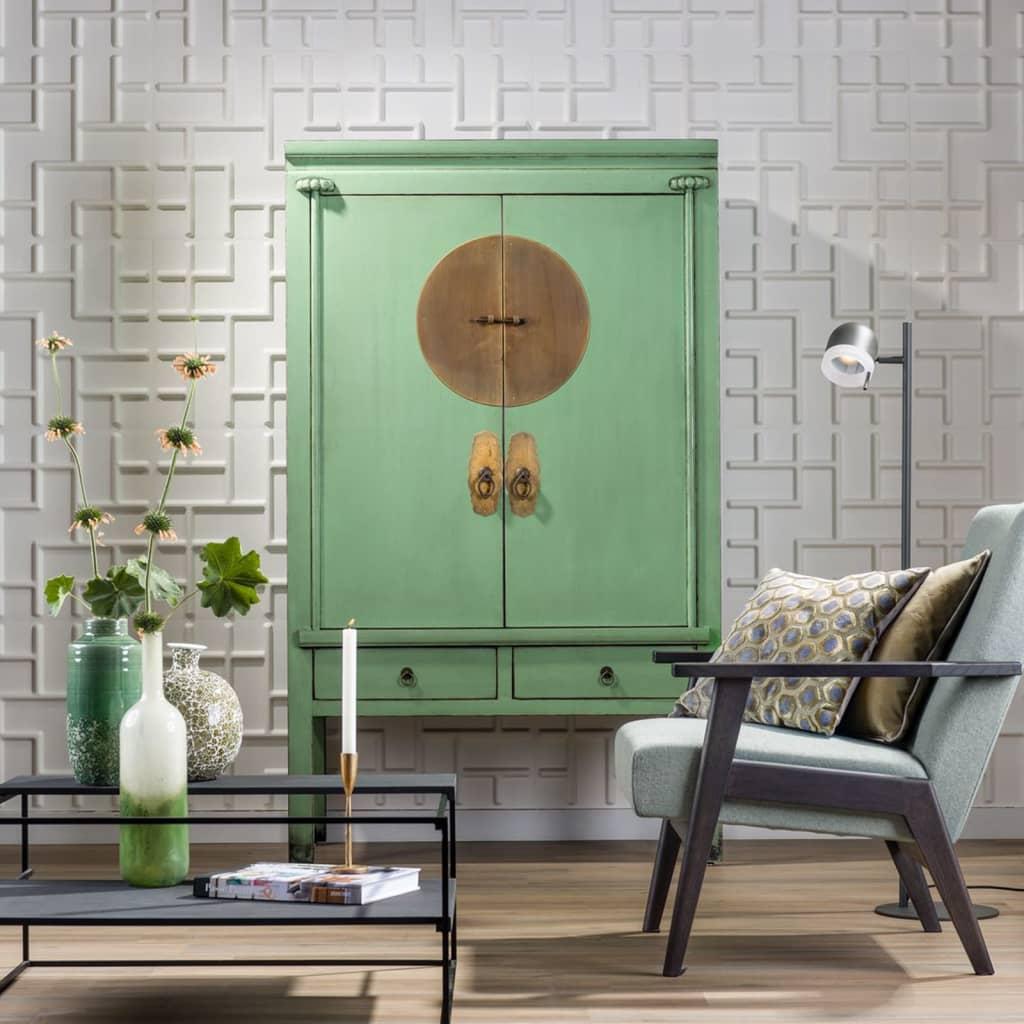 acheter wallart panneaux muraux 3d tetris 12 pcs ga wa19 pas cher. Black Bedroom Furniture Sets. Home Design Ideas