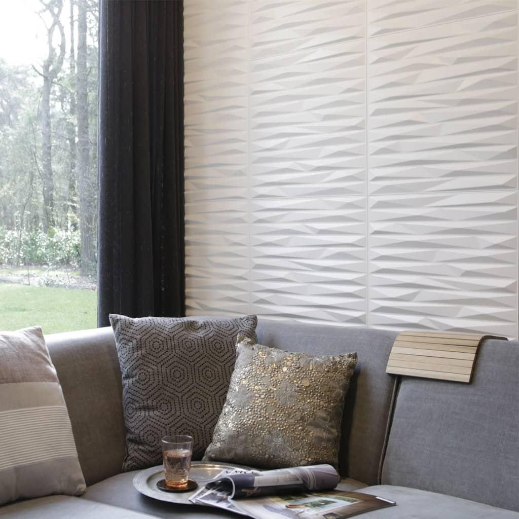 acheter wallart panneaux muraux 3d valeria 12 pcs ga wa24 pas cher. Black Bedroom Furniture Sets. Home Design Ideas