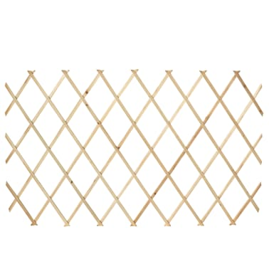 Extendable Wood Trellis Fence 5