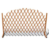 "Extendable Wood Trellis Fence 5' 11"" x 3' 3"""
