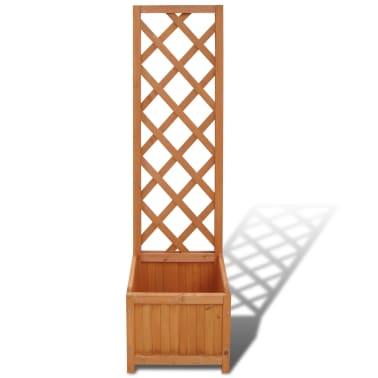 pflanzk bel mit rankhilfe 40 x 30 x 135 cm zum. Black Bedroom Furniture Sets. Home Design Ideas