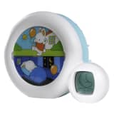 Claessens'Kids Indicateur de réveil Kid'Sleep Moon 22 x 6 x 17 cm Bleu