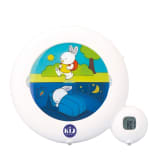 Claessens'Kids 3-in-1 Sleep Trainer Kid'Sleep Classic White 0025