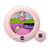Claessens'Kids Réveil 3n en 1 Kid'Sleep Classic Rose