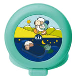 Claessens'KidsTravel Sleep Trainer Kid'Sleep Globetrotter Green 0029