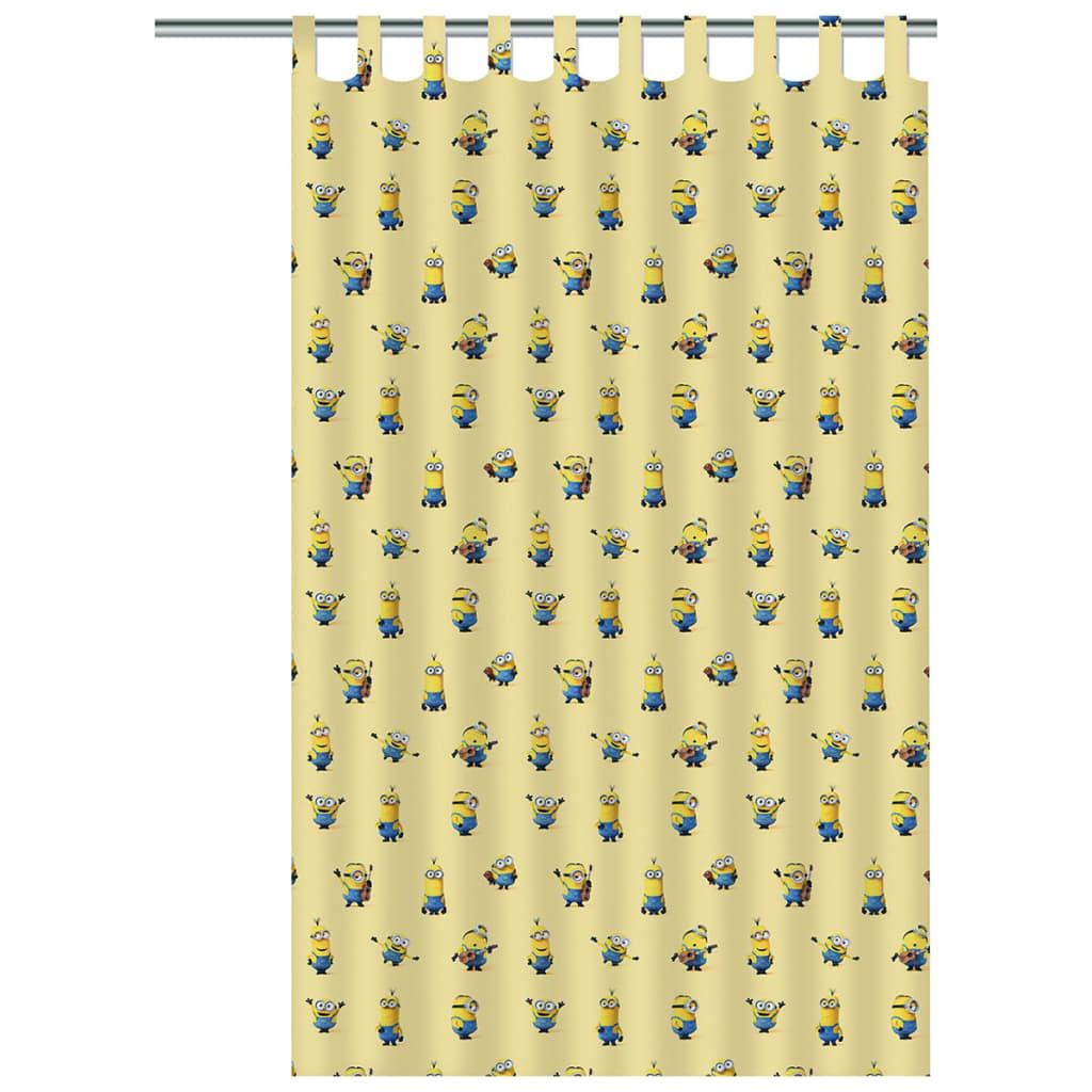acheter minions rideau pour enfants 250 x 140 cm jaune. Black Bedroom Furniture Sets. Home Design Ideas