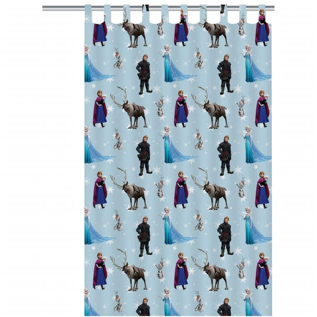 Afbeelding van Disney Kindergordijn Frozen groep blauw 250 x 140 cm ASSO234007