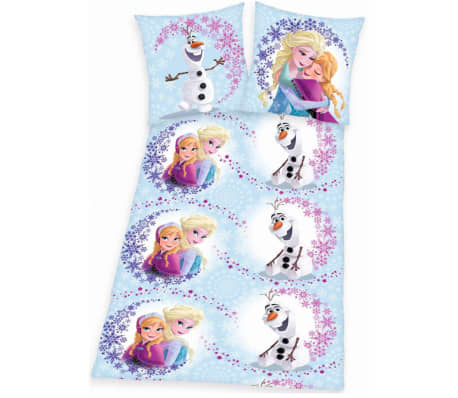 disney bettw sche set f r kinder frozen hug 200x140 cm dekb234117 g nstig kaufen. Black Bedroom Furniture Sets. Home Design Ideas