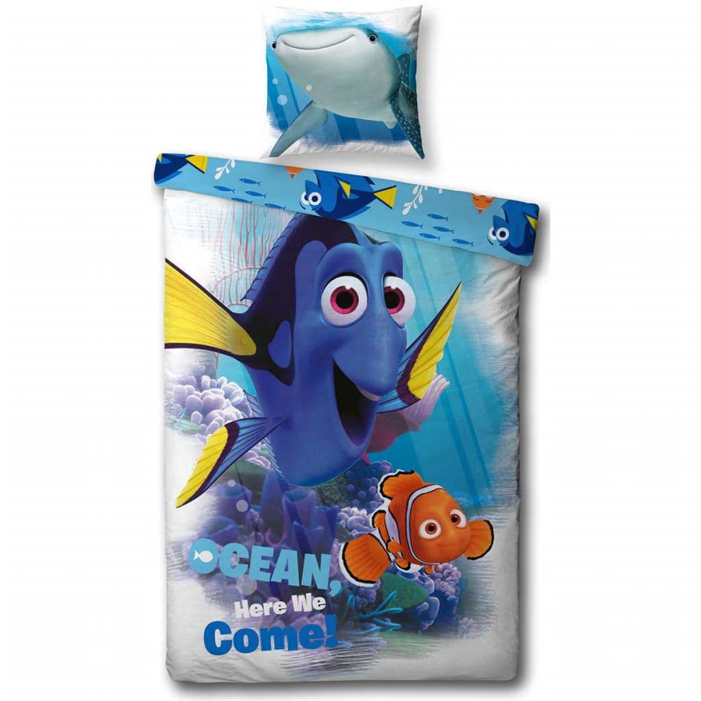 Afbeelding van Disney Kinderdekbedovertrek Finding Dory 200x140 cm DEKB293002