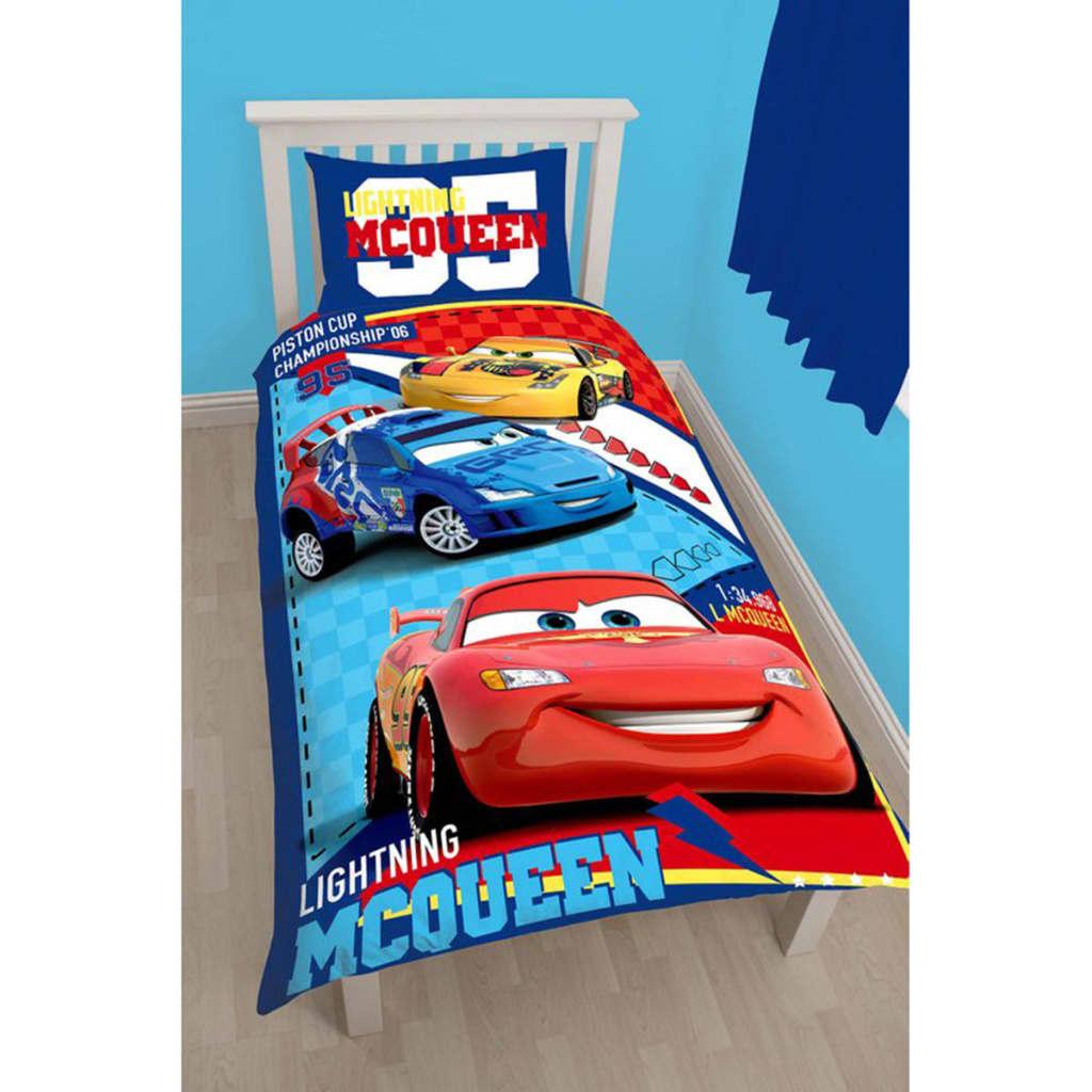 Disney Children's Duvet Cover Set Cars Piston Cup