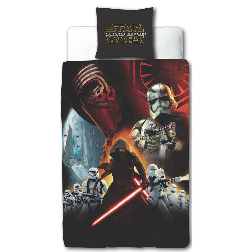 Afbeelding van Disney Kinderdekbedovertrek Star Wars zwart 200x140 cm DEKB930118
