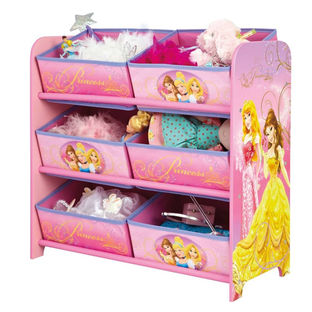 disney bo te de rangement princess 64 x 30 x 60 cm rose opbe660100. Black Bedroom Furniture Sets. Home Design Ideas