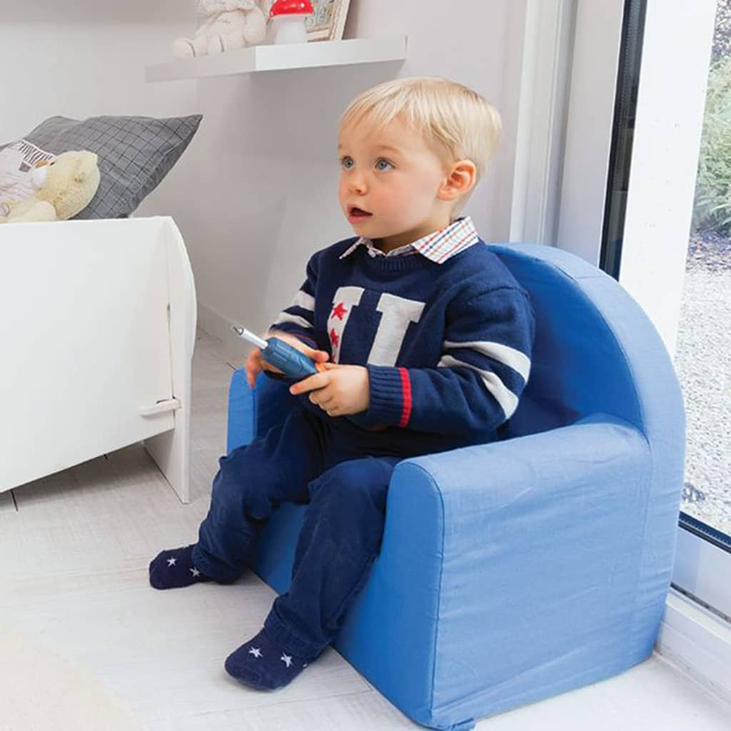 acheter room studio fauteuil pour enfants 37 x 29 x 41 cm bleu room230052 pas cher. Black Bedroom Furniture Sets. Home Design Ideas