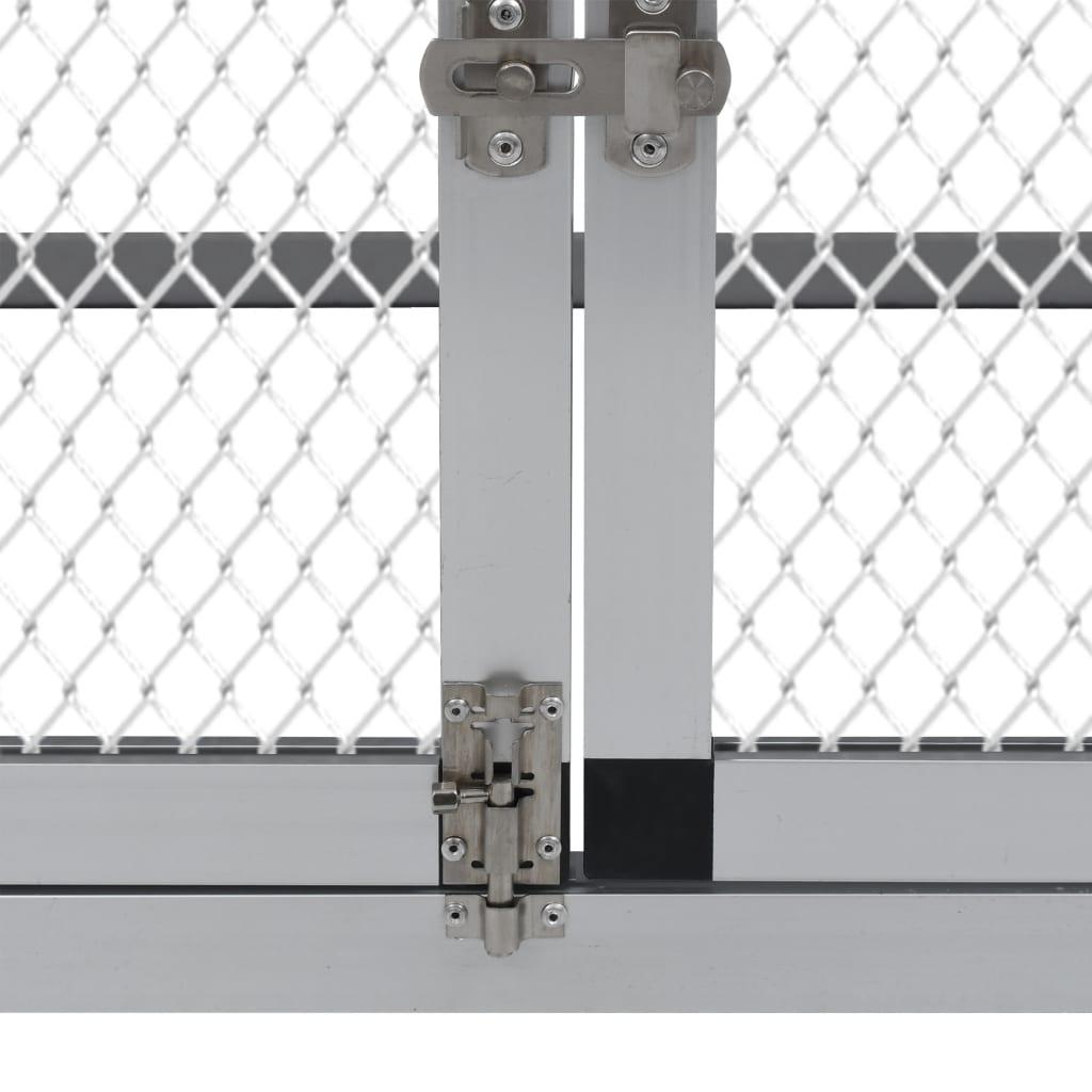 Pollaio recinto conigliera da esterno in alluminio con for Conigliera da interno