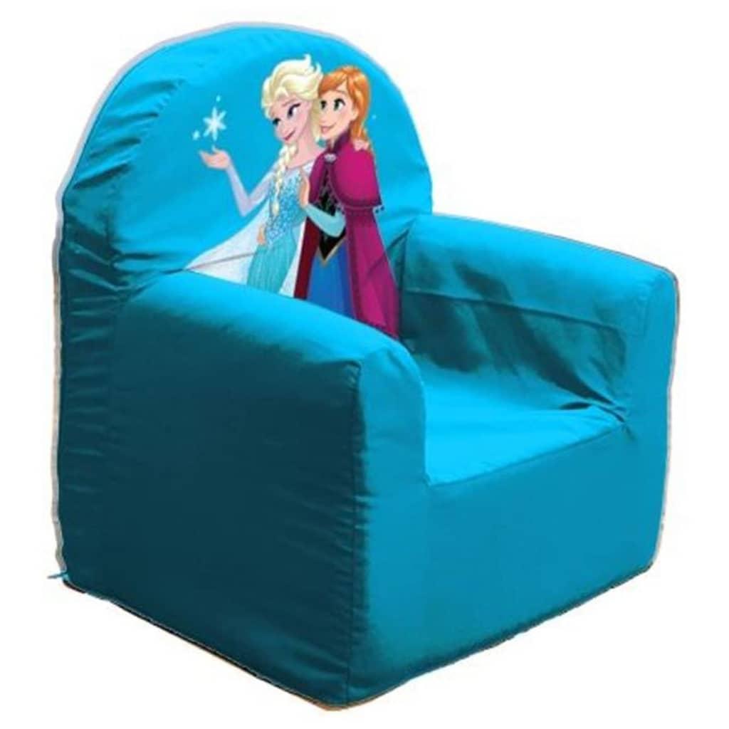 Afbeelding van Disney Frozen Kinderfauteuil Club Room 37x29x41 cm blauw ROOM234050