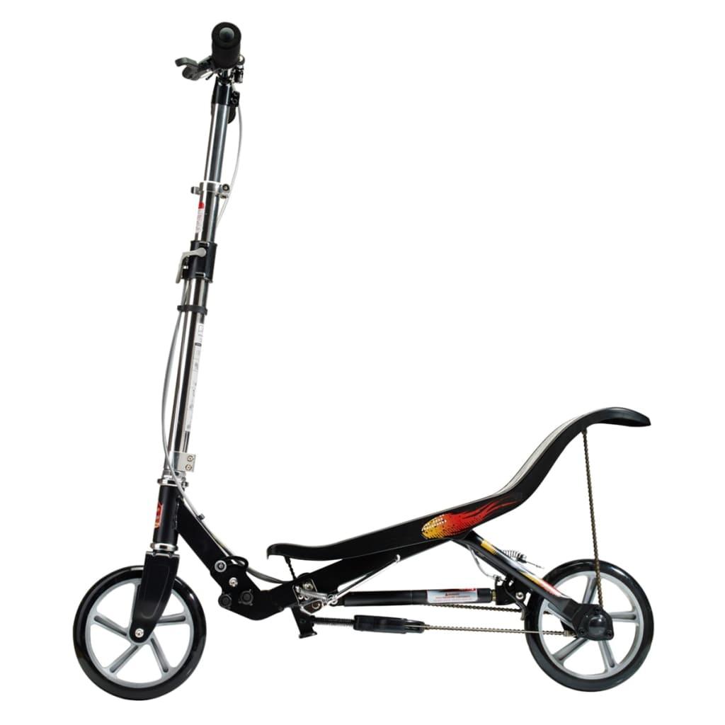 acheter space scooter trotinette matt noir spac189200 pas. Black Bedroom Furniture Sets. Home Design Ideas