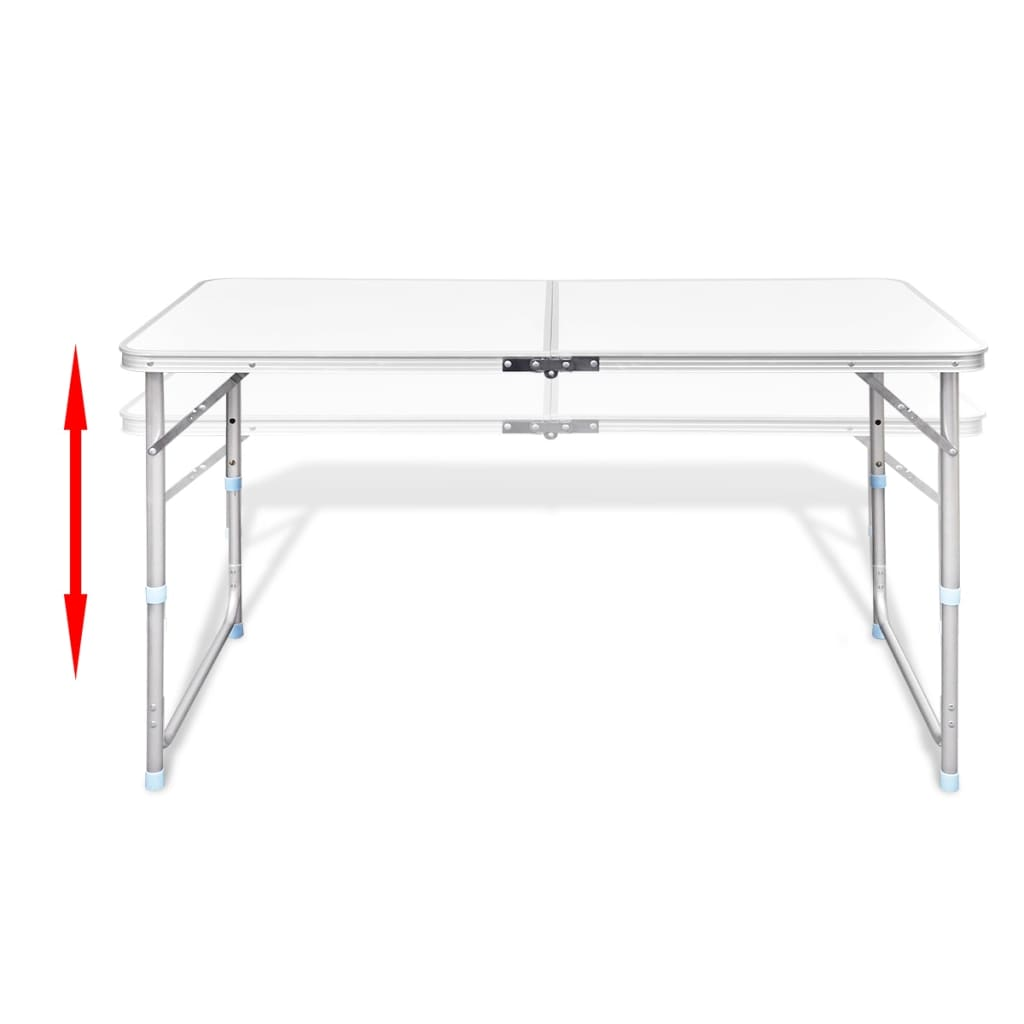 la boutique en ligne table pliante de camping en aluminium. Black Bedroom Furniture Sets. Home Design Ideas