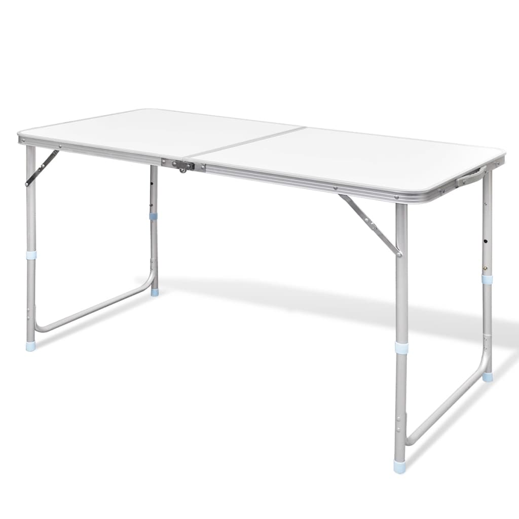 acheter table pliante de camping en aluminium avec hauteur ajustable pas cher. Black Bedroom Furniture Sets. Home Design Ideas