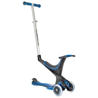 acheter globber scooter 5 en 1 myfree seat bleu marin. Black Bedroom Furniture Sets. Home Design Ideas