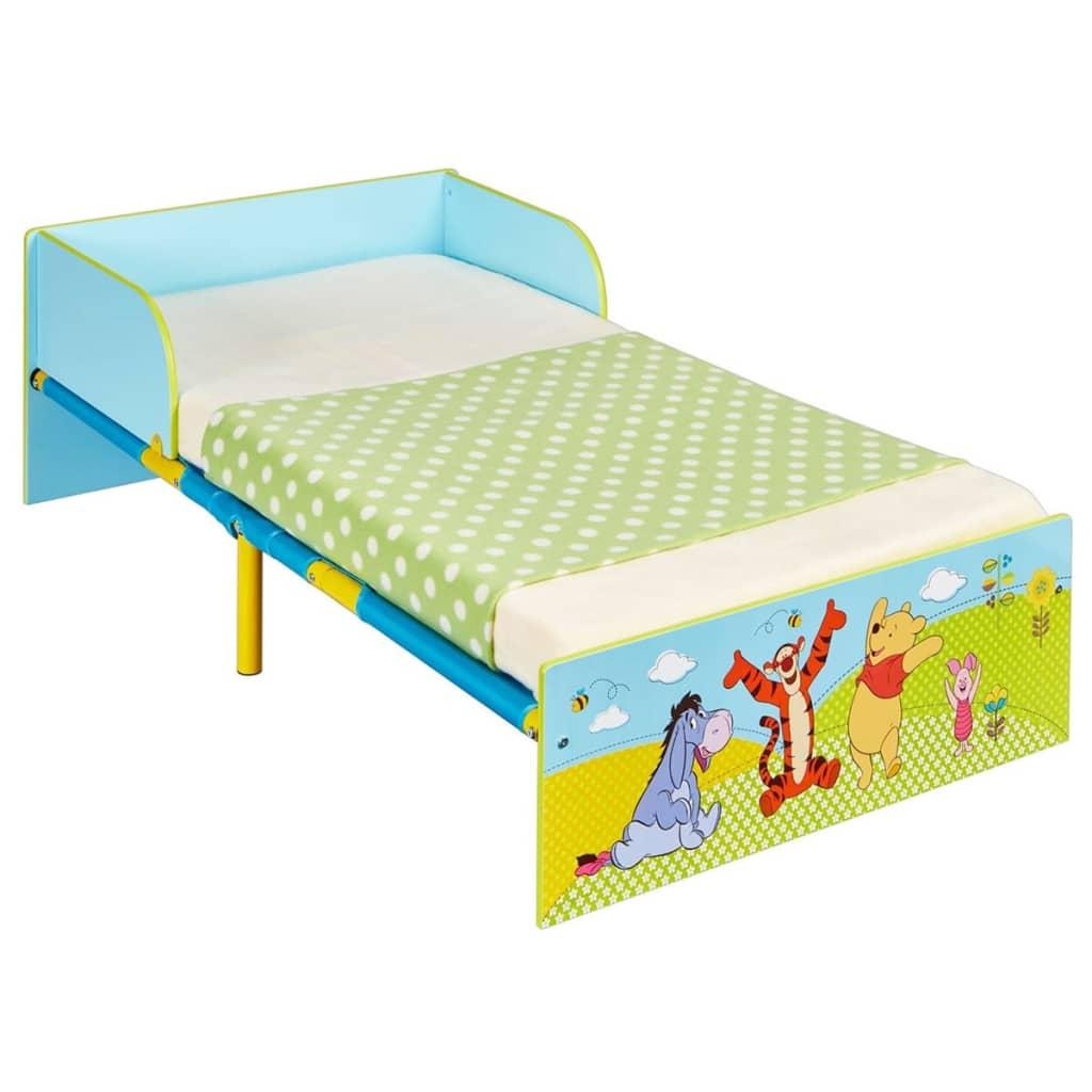 Disney Łóżeczko dziecięce Kubuś Puchatek, niebieskie, 143x77x43 cm