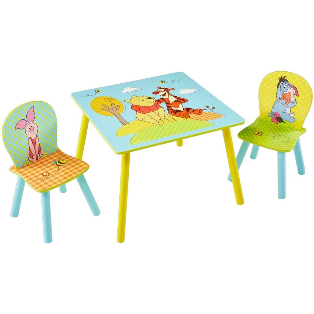 Afbeelding van Disney Tafel en stoelen set 3-delig Winnie de Poeh WORL320021