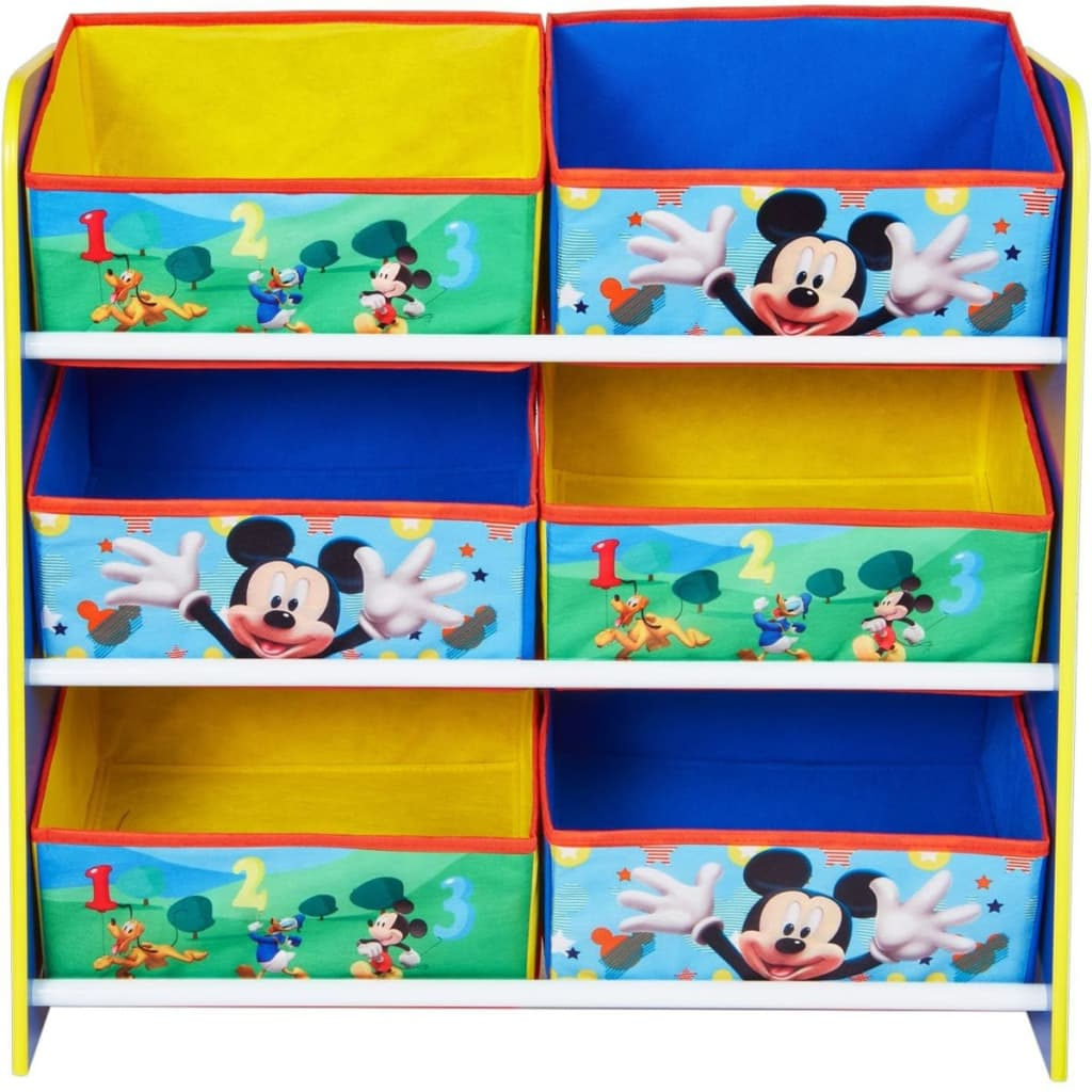 acheter disney meuble de rangement mickey mouse 51x23x60cm worl119011 pas cher. Black Bedroom Furniture Sets. Home Design Ideas