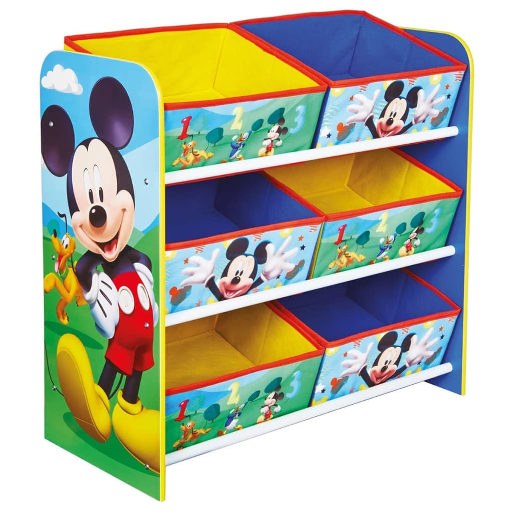 acheter disney meuble de rangement mickey mouse 51x23x60cm worl119011 pas cher. Black Bedroom Furniture Sets. Home Design Ideas
