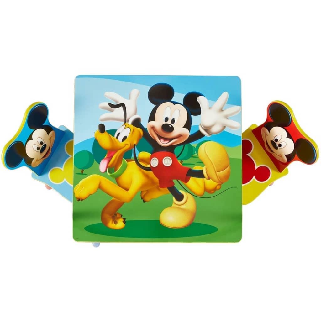 ... Disney 3 Tlg. Tisch  Und Stuhl Set Micky Maus Holz WORL119014[ ...