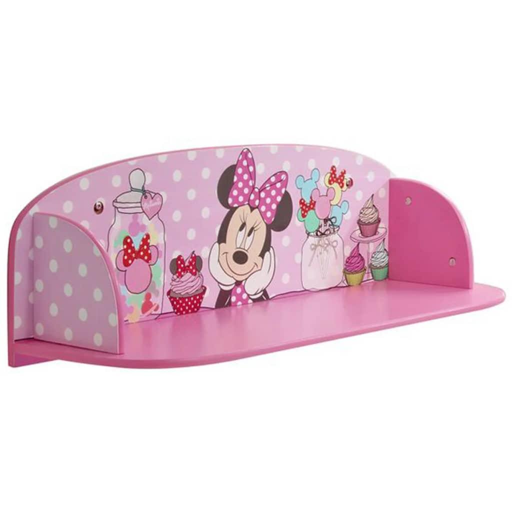 Afbeelding van Disney Kinderboekenplank Minnie Mouse roze 59x20x20 cm WORL222006