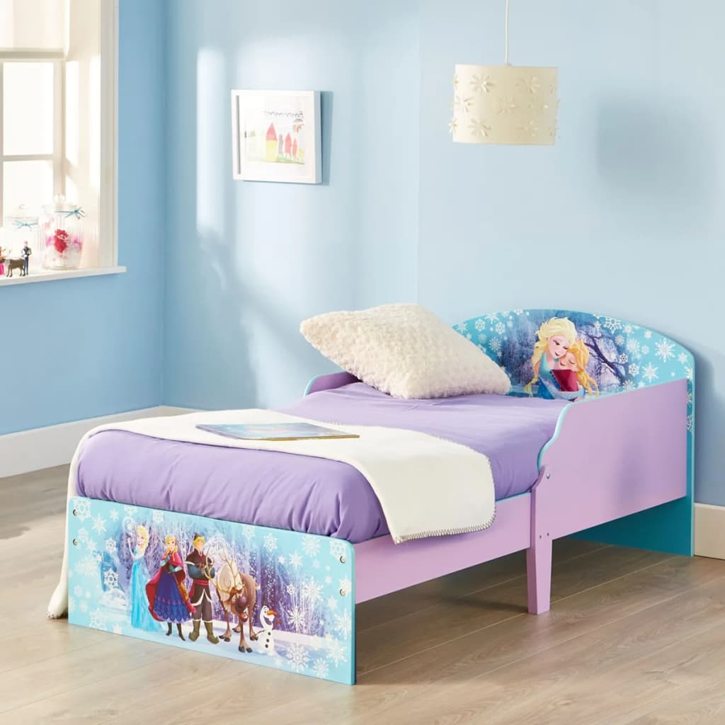 acheter disney lit enfant la reine des neiges 140x70 cm worl234022 pas cher. Black Bedroom Furniture Sets. Home Design Ideas